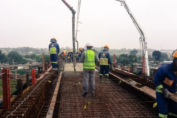 42m & 36m bridge construction