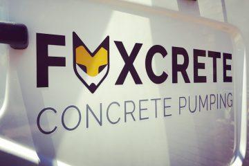 Foxcrete Branding