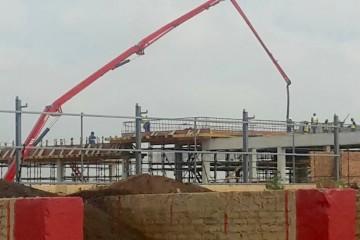 37m pumping bridge columns