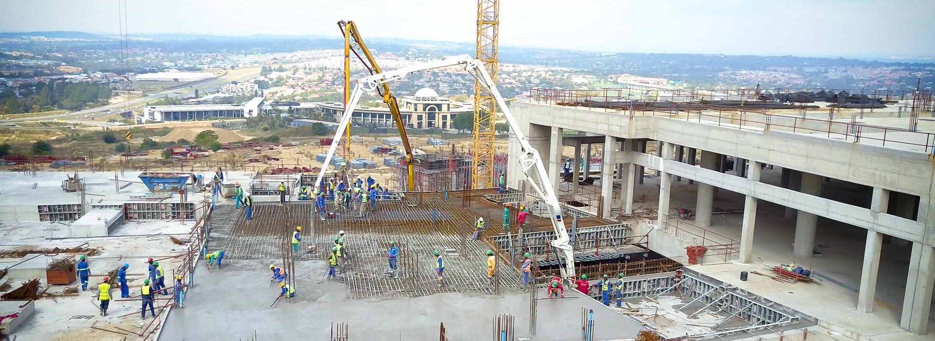 Concrete pumping Steyn City